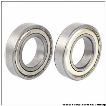 0.3750 in x 1.2810 in x 0.3120 in  Nice Ball Bearings (RBC Bearings) 400-24 V Radial & Deep Groove Ball Bearings