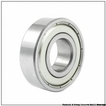 0.3750 in x 0.8750 in x 0.2500 in  Nice Ball Bearings (RBC Bearings) SRM062804BF18 Radial & Deep Groove Ball Bearings